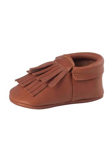 Moots Moots Beyaz Fiyonklu Kırmızı Taban Ayakkabı Taba